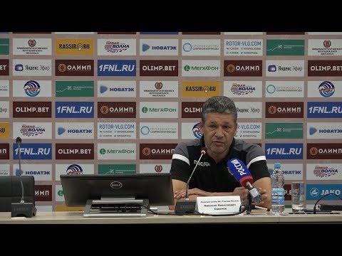 Послематчевая пресс-конференция «Ротор» - «Торпедо». 31 августа 2019