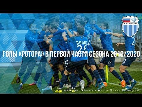 Голы «Ротора» в первой части сезона 2019/2020