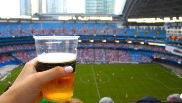На стадионе разрешат продажу пива
