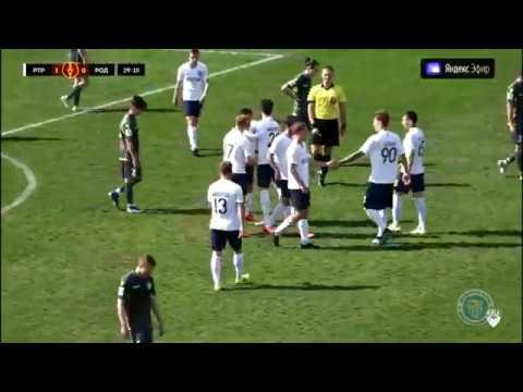 Видеообзор забитых голов матча «Ротор» — «Родина»