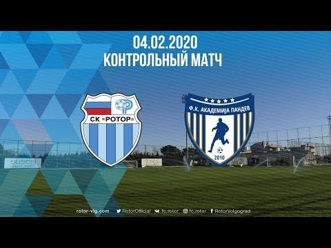 Трансляция матча Ротор - Академия Пандев. 04.02.2020 17:00 (Влг)