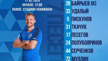 Стартовые составы Ротор - Сборная России U20
