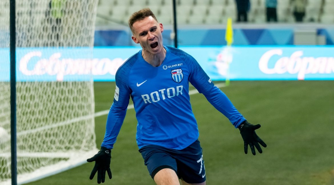 «Ротор» — «Вентспилс» (Латвия) — 2:0 (0:0)