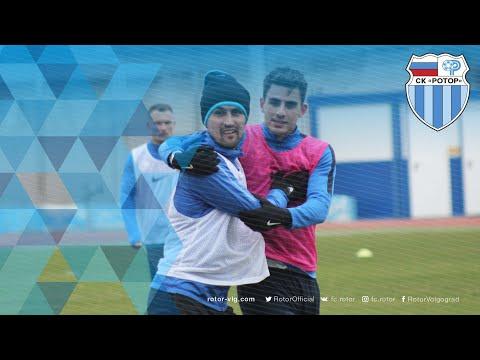 Тренировка на стадионе «Зенит»
