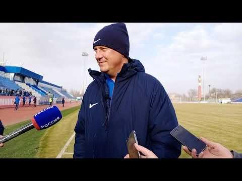 """Интервью главного тренера СК """"Ротор"""" Александра Хацкевича"""
