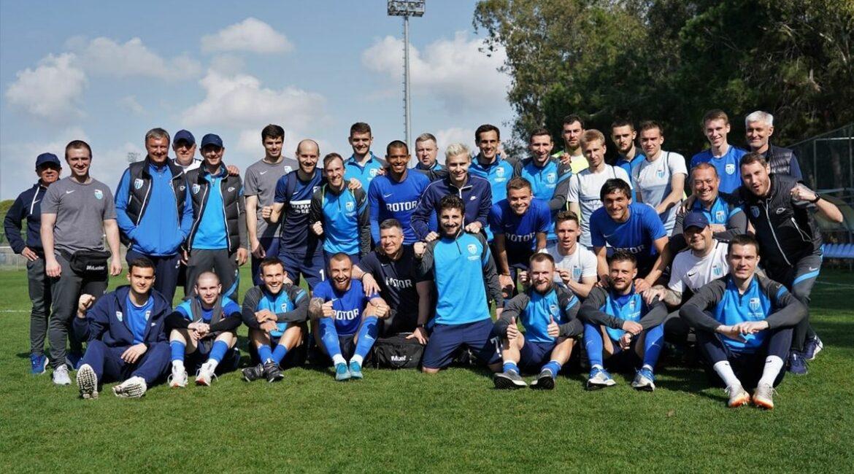 В Турции наша команда проведёт ещё один товарищеский матч