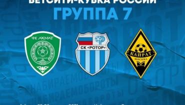 Состоялась жеребьевка элитного раунда Бетсити Кубка России 2021/2022